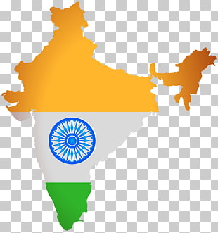 Indien Karte Abbildung, Indien Karte Abbildung, Indien Karte Flagge PNG Clipart