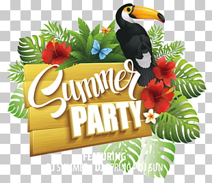 sommer party werbung flyer, party flyer sommer poster, sommer party PNG Clipart