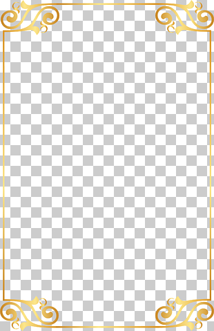 Gold, Goldmusterelemente, Goldrahmen PNG Clipart