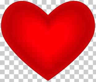 Liebes-Valentinstag des Herzens rotes, rotes Herz, rote Herzillustration PNG Clipart