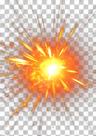 Licht, Explosion, Energieexplosion PNG Clipart